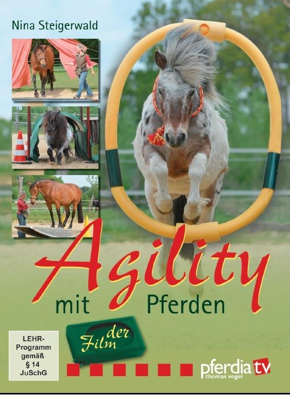 DVD: Agility mit Pferden von Nina Steigerwald