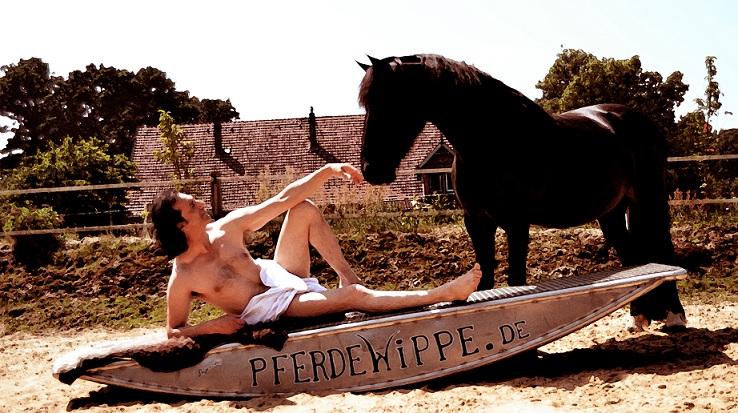 Pferdewippen Freund