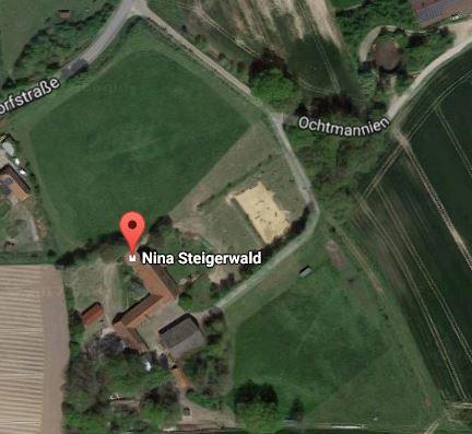 Satellitenbild von Hof Steigerwald