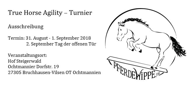 (Deutsch) True Horse Agility - TurnierTrue Horse Agi day