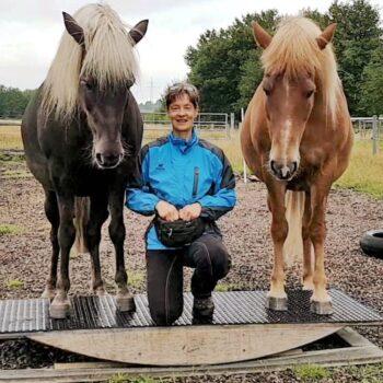 Pferdetrainerin Regine Witten