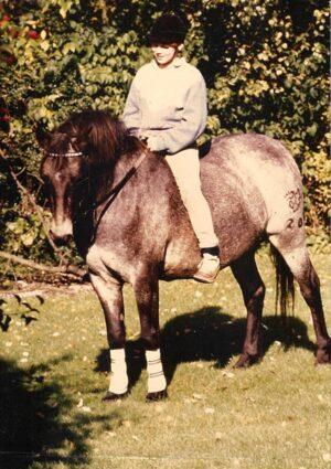 Nina Steigerwald bareback