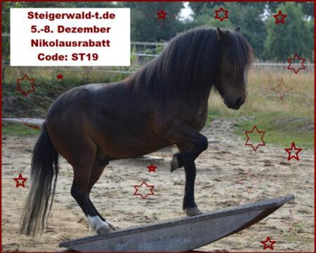 Steigerwald.T Pferdewippen Rabattaktion 2019