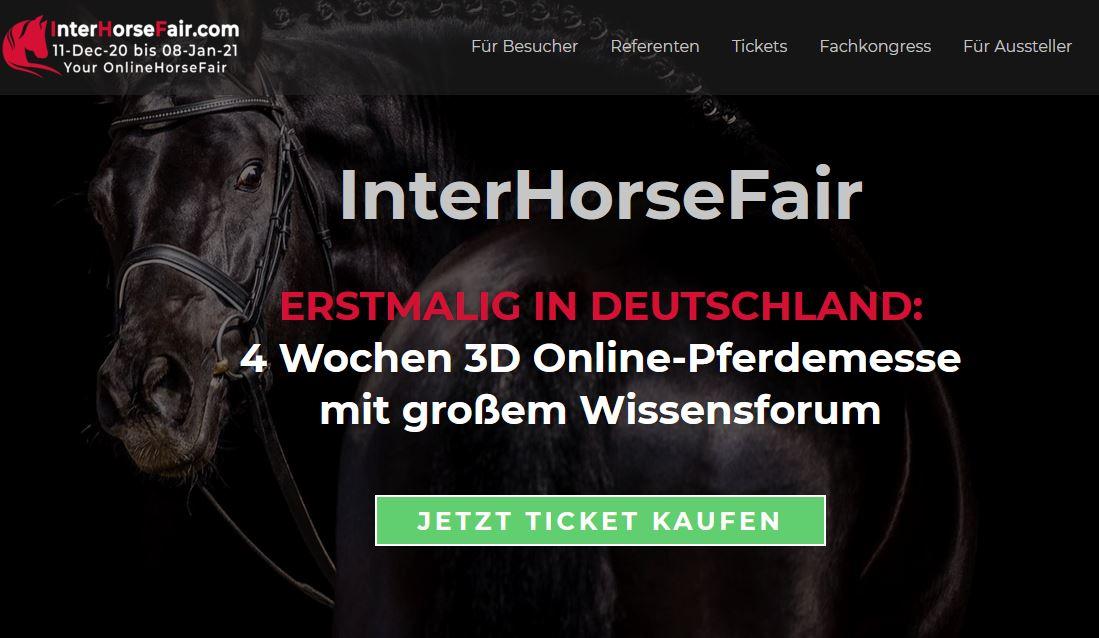 InterHorseFair - Online-Pferdemesse